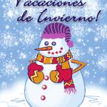 Imágenes con mensajes de Felices Vacaciones de invierno para compartir