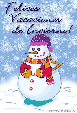 Imágenes Con Mensajes De Felices Vacaciones De Invierno Para