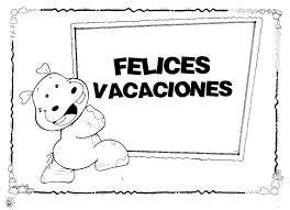Dibujos De Felices Vacaciones Para Imprimir Y Colorear