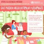 Como se organiza la Semana Mundial de la Lactancia Materna?
