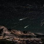 Increíbles lluvias de meteoros