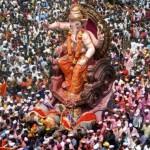 La celebracion de Ganesha Chaturthi