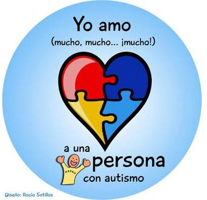 autismoyo amo a una persona con autismo