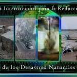 Postales con logo del Dia para la Reduccion de Desastres Naturales