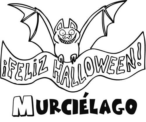 feliz-halloween-para-colorear-Feliz-Halloween-Murcielago-colorear1