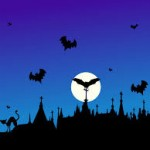 Postales de Halloween para compartir en Facebook