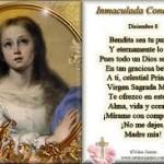 Postales con frases para el Dia de la Inmaculada Concepcion