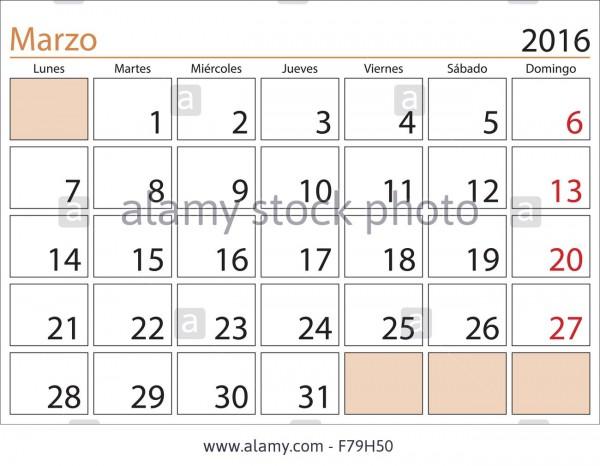 march-month-in-a-year-2016-calendar-in-spanish-marzo-2016-calendario-F79H50