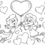 La primera carta de San Valentin
