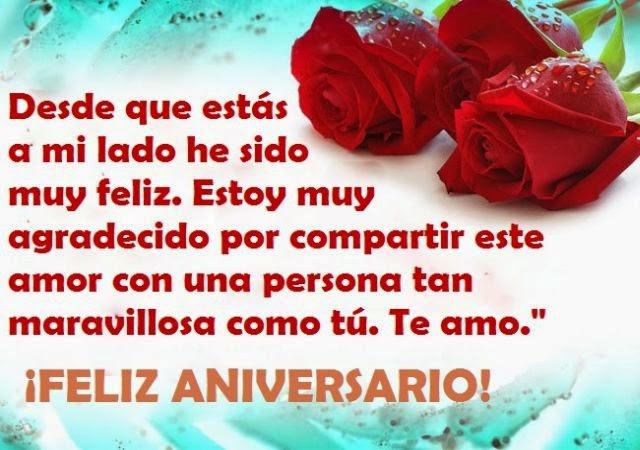 Imagenes Bonitas Con Mensajes De Amor Para Desear Feliz Aniversario
