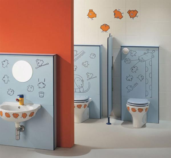 Hermosas Ideas Para Decorar El Cuarto De Baño De Los Niños