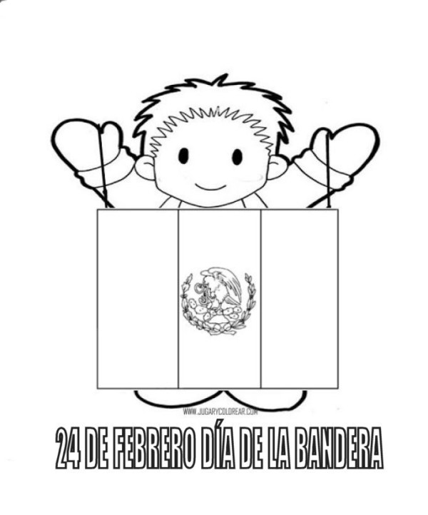 Imágenes Del Día De La Bandera De México Para Compartir Todo Imágenes
