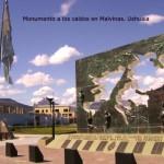 Increíbles monumentos en homenaje a los ex combatientes de la Guerra de Malvinas