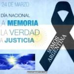 24 de marzo – Día Nacional de la Memoria por la Verdad y la Justicia – 40° Aniversario