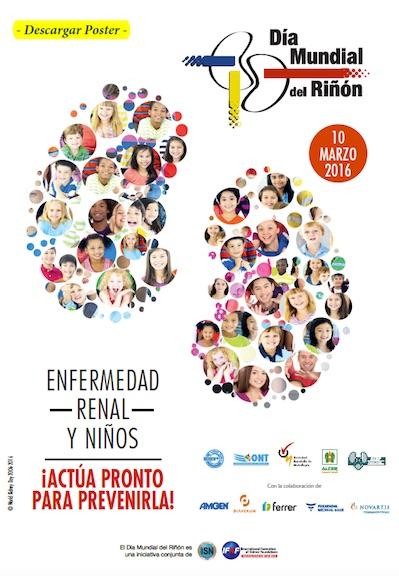 Lema 2016 Del Día Mundial Del Riñón Enfermedad Renal Y