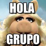 """Los memes más divertidos para decir """"Hola Grupo"""" y """"Buen Día Grupo"""""""