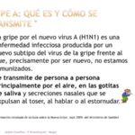 """Infografías sobre la """"Gripe A"""": Síntomas, contagio, prevención y grupos de riesgo"""