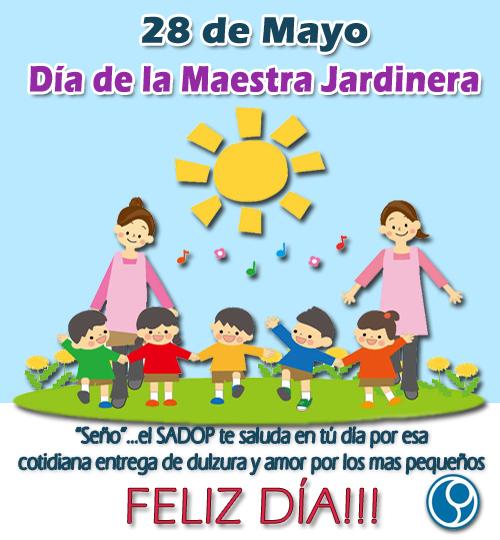 D a de las maestras jardineras argentinas homenaje a for Cancion para saludar al jardin de infantes