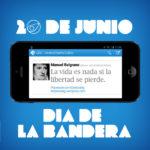 Celebración del Día de la Bandera Nacional Argentina – Imágenes para compartir