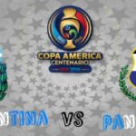 Copa América Centenario 2016 – Argentina vs. Panamá