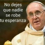Imágenes con frases motivadoras y mensajes cristianos del Papa Francisco