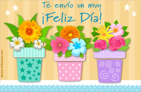 Tarjetas Postales Y Gifs Animados Para Desear Felíz Día A Amigos Y