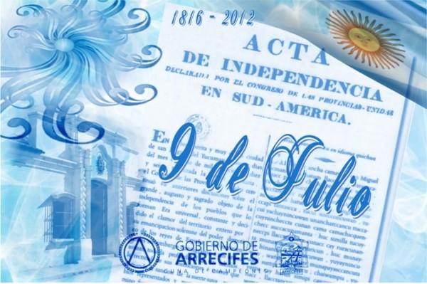 Im genes del 9 de julio declaraci n de la independencia for Gimnasio 9 de julio