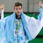 Imágenes maravillosas de Juan Martin del Potro medalla de plata en los juegos olímpicos
