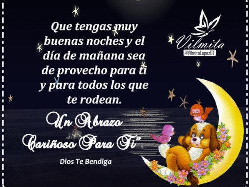 Imágenes Lindas Con Bonitas Frases Para Decir Buenas Noches
