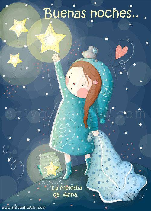 Hermosa imagen para regalar y desear dulces sueños. dulcessuenos39. Linda  imagen para decir buenas noches.