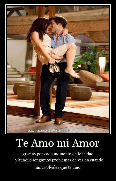 My Love Te Adoro Mi Gordo Hermoso Frases T Te Adoro