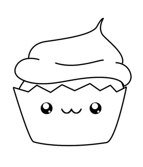 Imágenes kawaii dibujos para colorear tiernos y bonitos ...
