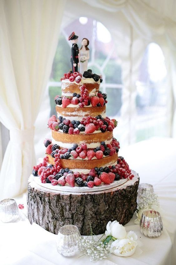 Tortas Para Matrimonio Rustico : Decoración de casamiento imágenes con ideas increibles