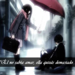 Imágenes anime con frases