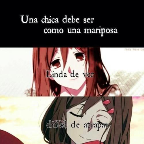 frases hermosas de anime: Imágenes Anime Con Frases