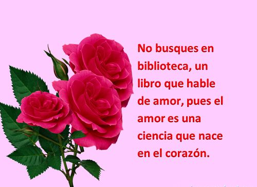 Dibujos De Rosas Imágenes Y Frases Románticas Todo Imágenes