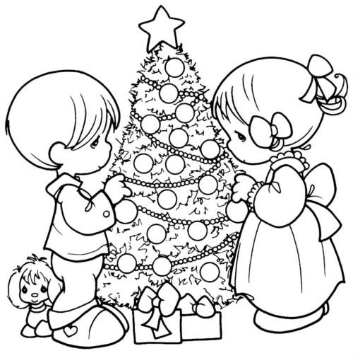 Imágenes De Navidad Para Niños Frases Mensajes Colorear