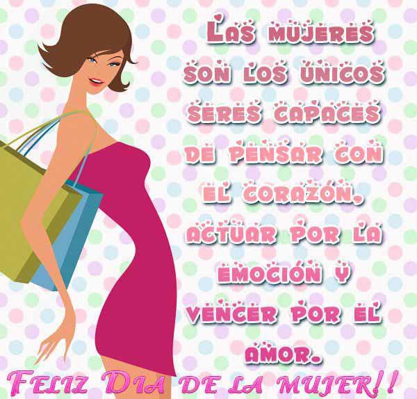 Imagenes Con Mensajes Para Felicitar El Dia De La Mujer Todo Imagenes