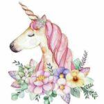 Imágenes y marcos de Unicornios hermosos