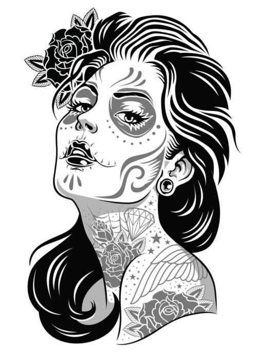Imágenes De Catrinas Mexicanas Para El Día De Muertos Todo Imágenes