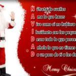 Acrósticos de Navidad y Año Nuevo