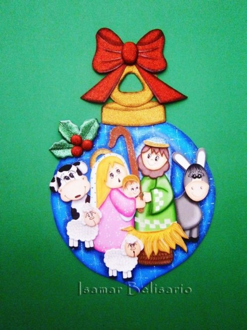Pesebres Navideños Artesanales Y Reciclados Para Navidad