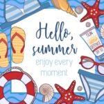 Frases e imágenes de verano