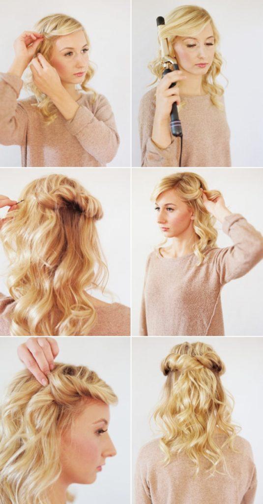 35 Peinados Faciles Rapidos Y Bonitos Para El 2019 Todo Imagenes