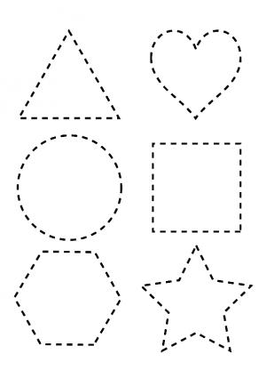 Imagenes De Figuras Geometricas Formas Para Armar Colorear