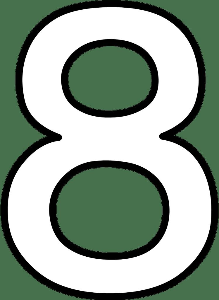 Fichas de Números Grandes para imprimir - Todo imágenes