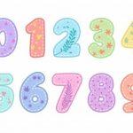 40 Imágenes de Números Bonitos – Moldes de números