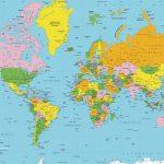 Mapamundi Grande: planisferios temáticos para descargar e imprimir