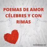 90 poemas de amor cortos para enamorar (con autor)